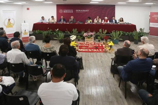 SEMARNAT llevó a cabo los primeros diálogos ambientales con pueblos originarios y organizaciones sociales