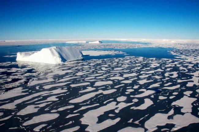 Un remolino de agua dulce ártica se cierne sobre el Atlántico norte