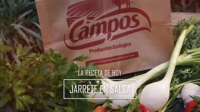 Carnes ecológicas CAMPOS te propone esta excelente receta: JARRETE EN SALSA