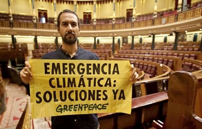 Políticos españoles de vacaciones para hacer frente al cambio climatico