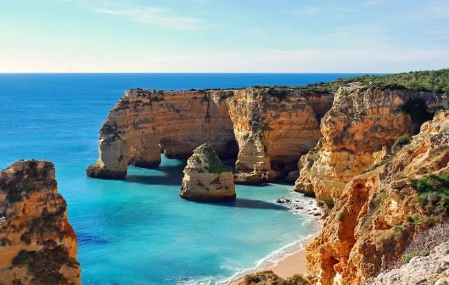 Los Siete Valles Colgantes del Algarve, mejor recorrido de Europa para practicar senderismo