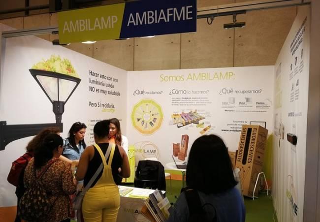AMBILAMP y AMBIAFME participan un año más en una nueva edición de TECMA 2018