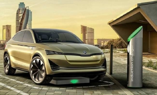 Skoda planea implementar 7.000 puntos de carga para coches eléctricos