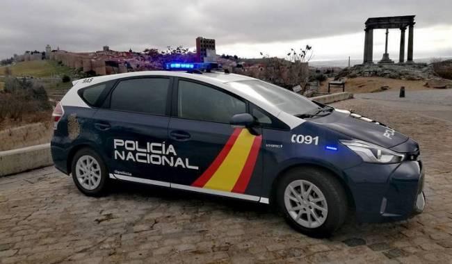 La Policía Nacional de Ávila incorpora a su flota vehículos híbridos