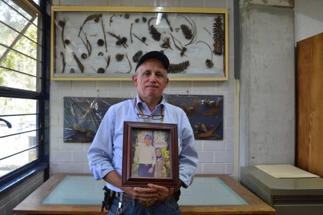 Jorge Pérez de la Rosa, enamorado de las coníferas