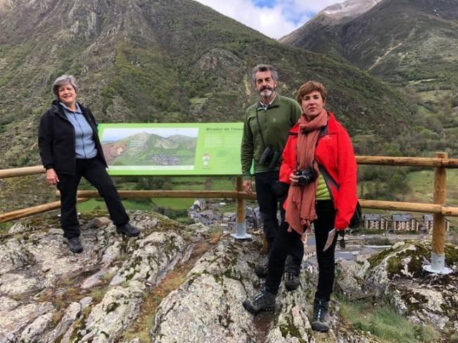 Los Pirineos estrenan ruta interpretativa y educativa sobre el oso en el Parque Natural Alt Àneu, Lleida