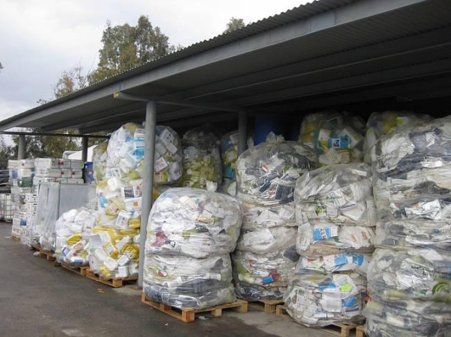 Los agricultores españoles reciclaron el 51,5% de los envases agrarios