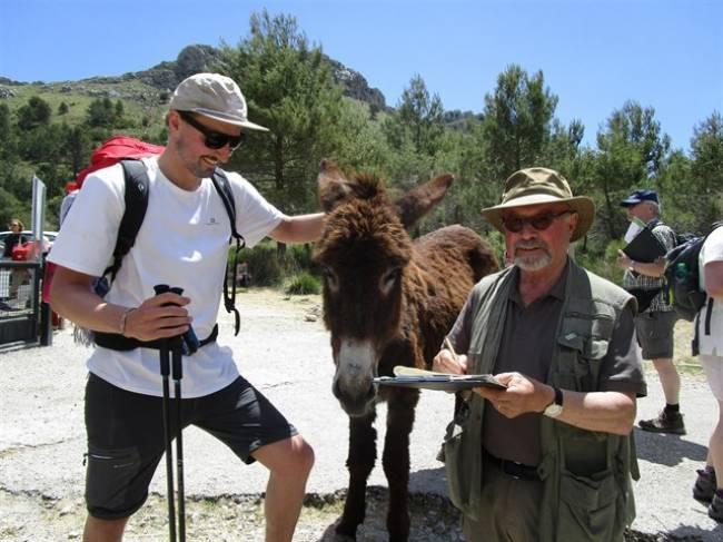 Los senderistas alemanes en la Serra de Tramuntana harán labores de conservación