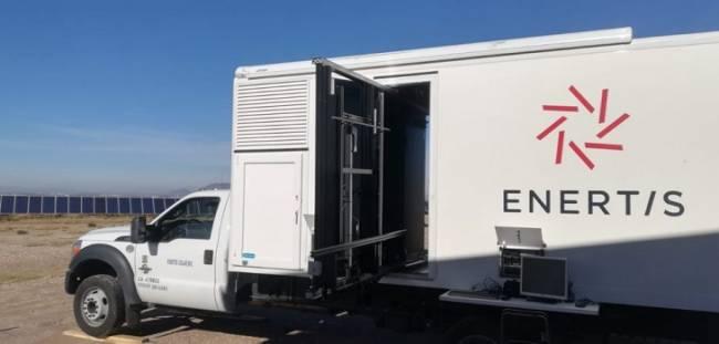 Enertis establece uno de sus laboratorios fotovoltaicos móviles en México