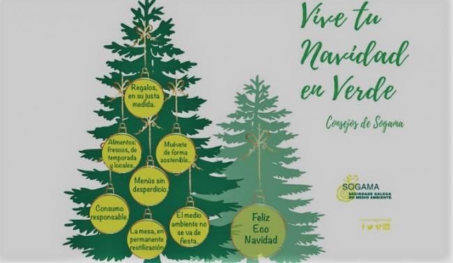 Galicia. Consejos Sogama para una Navidad en Verde