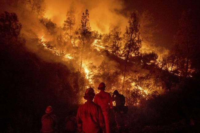 El daño de los grandes fuegos de California, evaluado desde el espacio