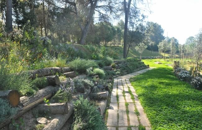 'El Camino del bosque' del cementerio de Roques Blanques, premio EMAS a la mejora del comportamiento ambiental
