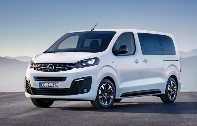 Opel Zafira Life 100% eléctrico