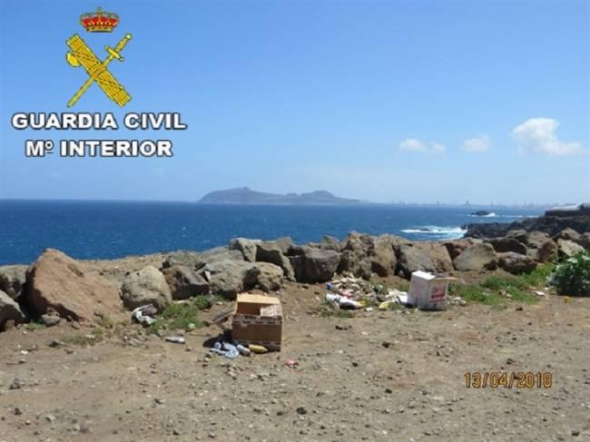 Denunciado un taller en Gran Canaria por un vertido incontrolado de residuos químicos