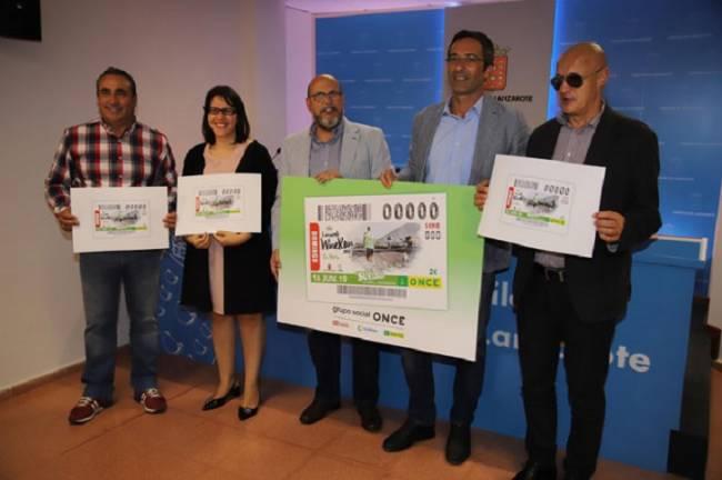 La ONCE dedica el cupón del 16 de junio a la Lanzarote Wine Run 2019