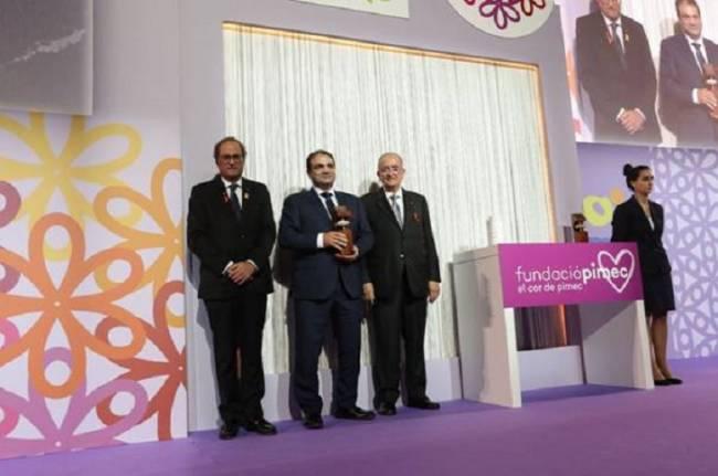La patronal PIMEC a premiado a Miel Muria con el galardón a la Pequeña Empresa más competitiva de Cataluña