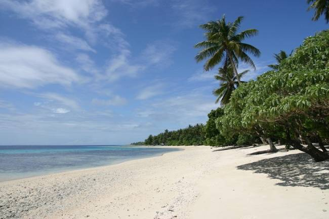 Muchas islas atolón pueden ser inhabitables para mitad de siglo