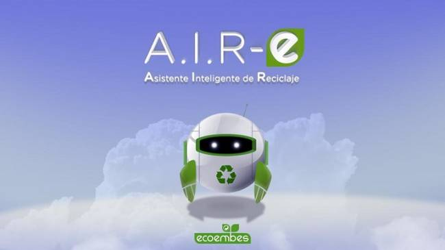 A.I.R-e, el primer asistente virtual de reciclaje de Ecoembes