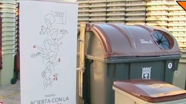 A partir de octubre se recogerá la materia orgánica en 12 distritos de Madrid